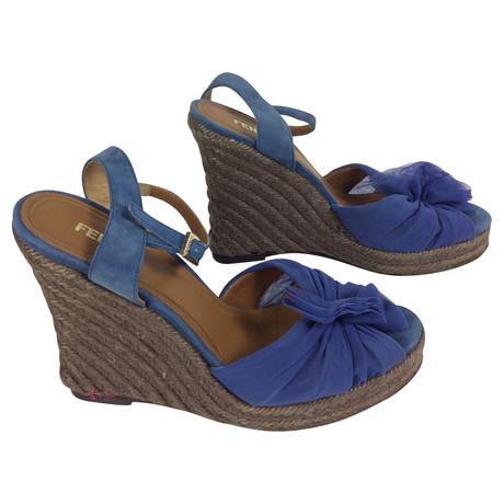 Blau Fendi Blau Wedges Wedges Blau Fendi Wedges Fendi Wedges Fendi Wedges Fendi Blau Blau xt7I4f