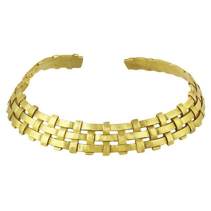 Yves Saint Laurent Gold-colored choker