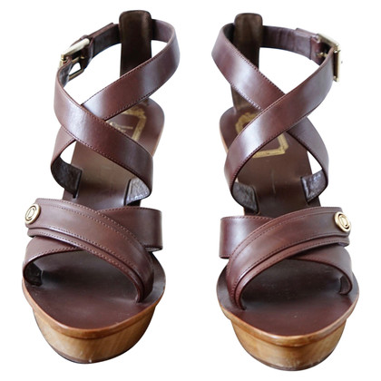 Christian Dior wood Sandals