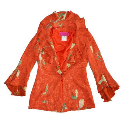 Christian Lacroix Silk jacket with frills