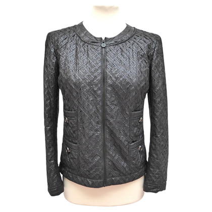 Chanel Jacke mit Flechtstreifen