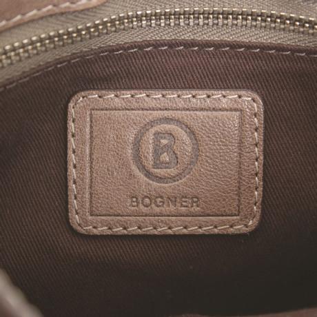 Bogner Umhängetasche aus Leder in Braun Braun 2018 Zum Verkauf APztP