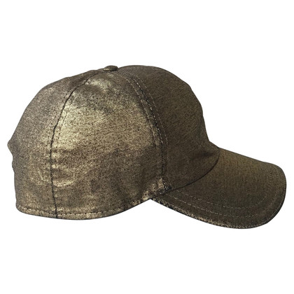 Fendi Gold colored cap