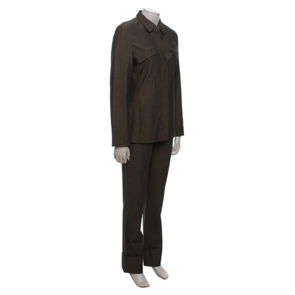 René Lezard Olive trousers suit