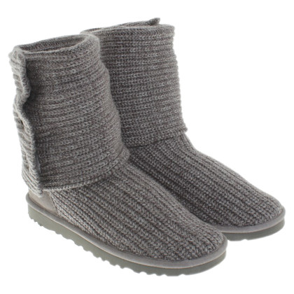 UGG Australia Knitted boots in grey