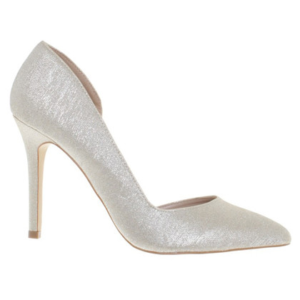 Kurt Geiger pumps with glitter trim