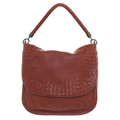 Bottega Veneta Handbag in rust