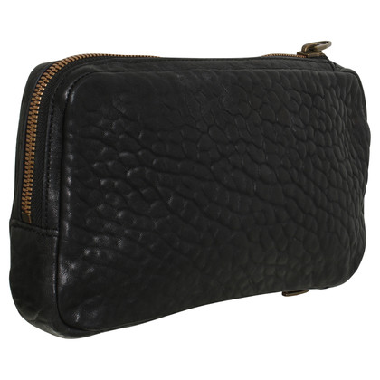 Alexander Wang clutch in zwart