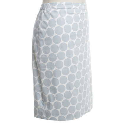 St. Emile skirt in blue / white