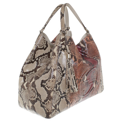 """Gucci """"Soho Shopper"""" made of phyton leather"""