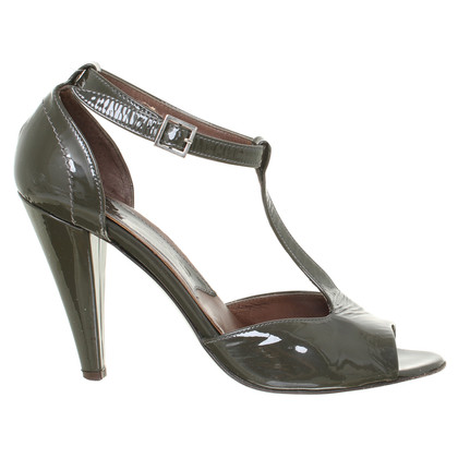 René Lezard  Sandals patent leather