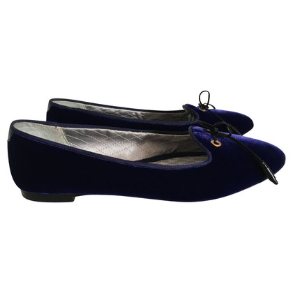 Tom Ford Samt-Slipper