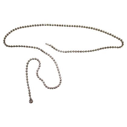 Swarovski chain belt