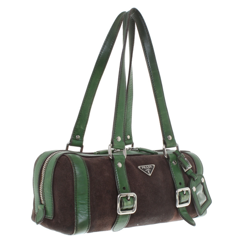 d41f2c524255cd ... wholesale prada handbag in brown green 90128 1e6e4