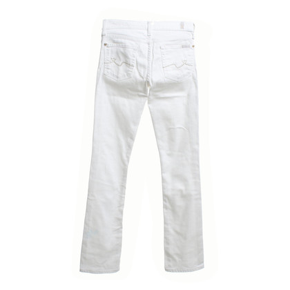 7 For All Mankind Jeans in bianco