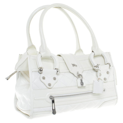 Burberry White Leather handbag