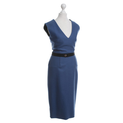 Victoria Beckham Blue dress with belt