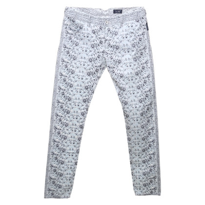 Armani Jeans trousers with floral print