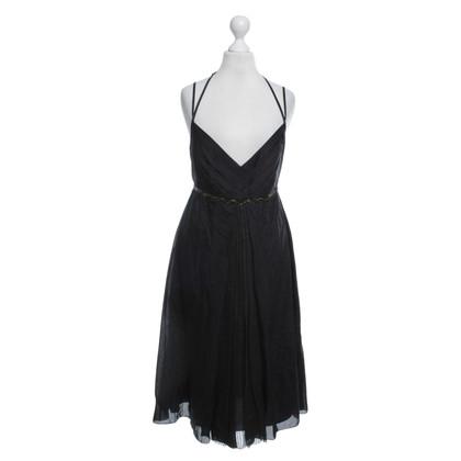 Strenesse Kleid in Schwarz/Anthrazit