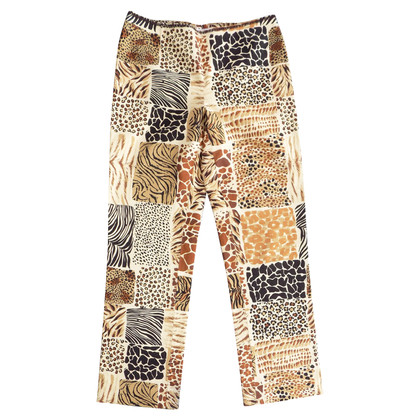 Moschino Cheap and Chic trousers with animal print
