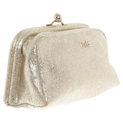 Dolce & Gabbana Gold colored clutch