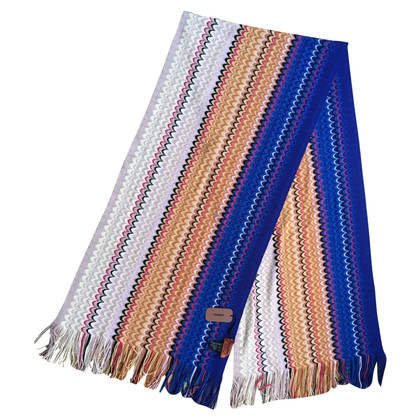 Missoni Knitted scarf in multicolor