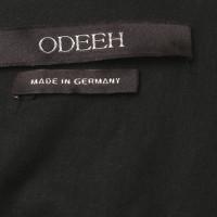 Odeeh Top con modelli nero