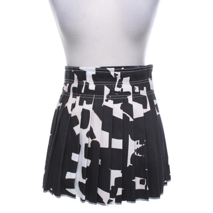 Isabel Marant Pleated skirt with print