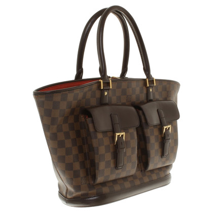 "Louis Vuitton ""Manosque GM Damier Ebene Canvas"""