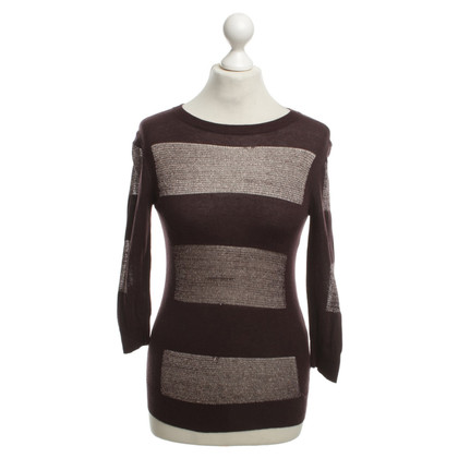 Ted Baker Sweater in brown with fancy