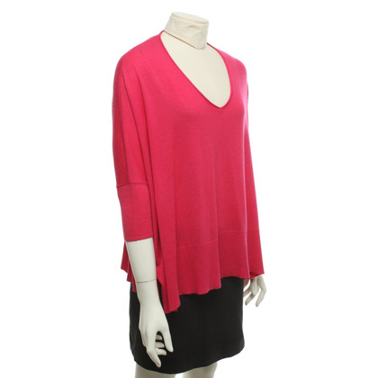 American Vintage Sweater in fuchsia