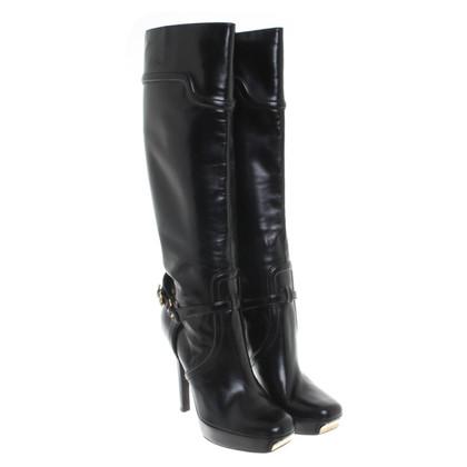 Gucci zwart lederen schoen