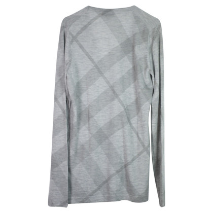 Burberry Long cardigan in cashmere / wool