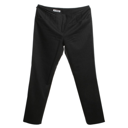 Jil Sander Wool trousers in dark gray