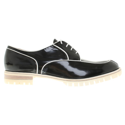 Fratelli Rossetti Lace-up shoes in black and white