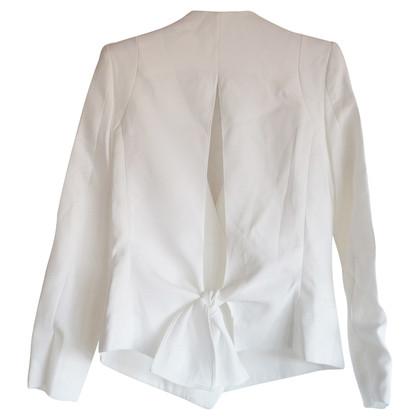 Chloé chloe witte blazer boog