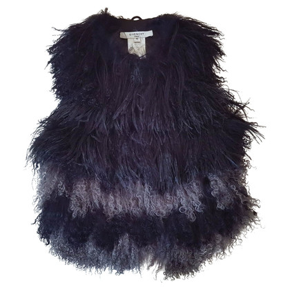 Givenchy Fur and feather gilet