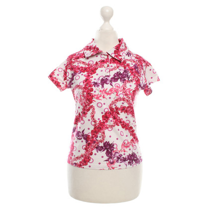 Versace T-shirt con stampa floreale