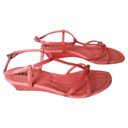 Prada Sandals in patent leather