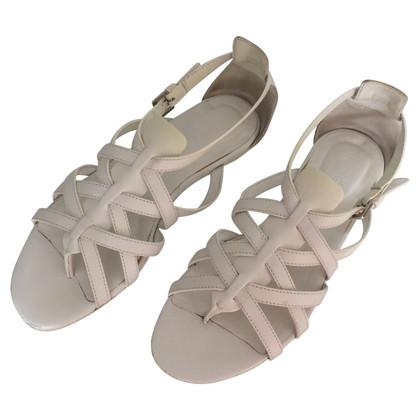 Hogan Witte sandalen
