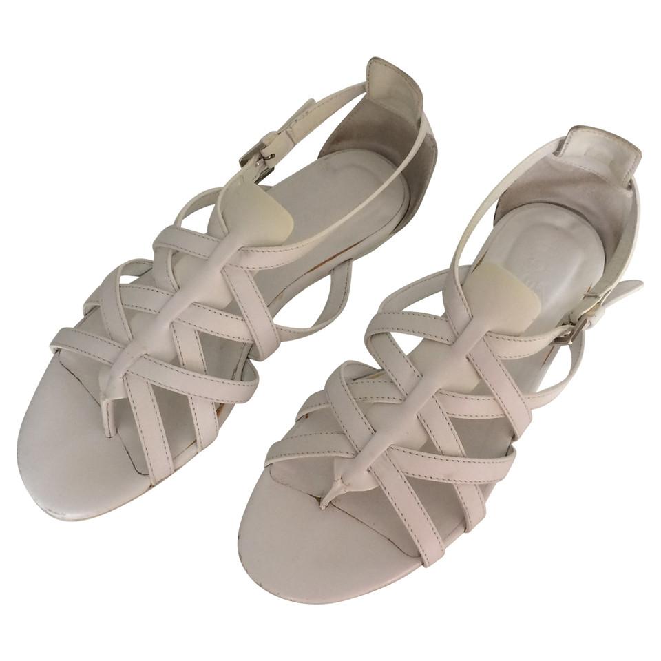 hogan sandales blanches acheter hogan sandales blanches second hand d 39 occasion pour 39 00. Black Bedroom Furniture Sets. Home Design Ideas