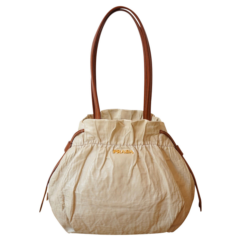 gebraucht - Handtasche aus Wildleder - Damen - Grün - Wildleder Prada ESnmD0Dy