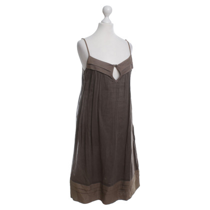 Day Birger & Mikkelsen Pinafore dress in olive green