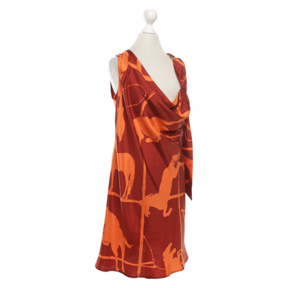 Aigner Silk dress with pattern