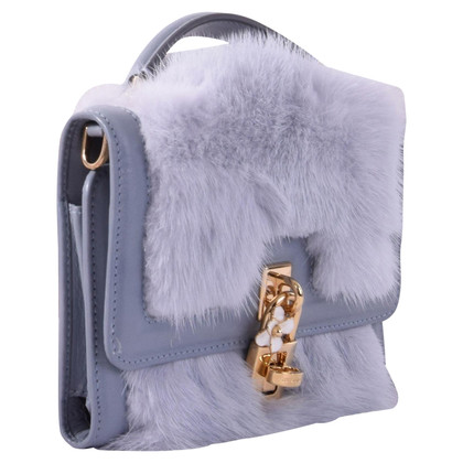 Dolce & Gabbana Purse with fur trim