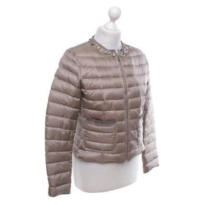 Mabrun Down jacket with gemstones