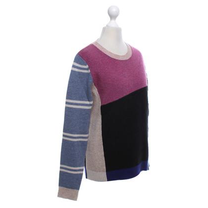 Isabel Marant Etoile Kleurrijke wollen trui