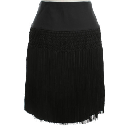 Armani skirt with fringes