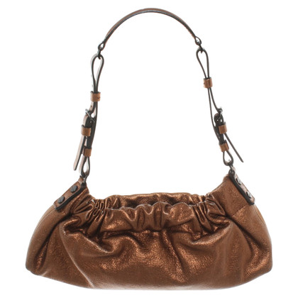 Burberry Handbag in bronze colors