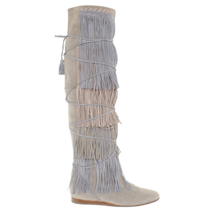 Etro Boots with leather fringes